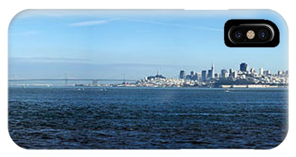 View Of Alcatraz Island And San IPhone Case