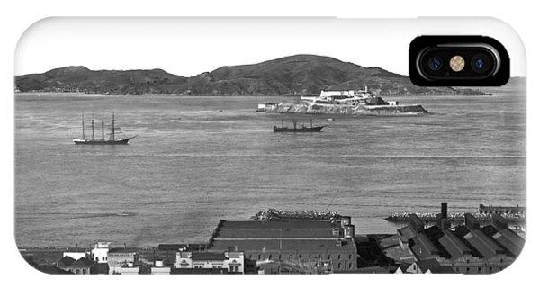 View Of Alcatraz Island IPhone Case