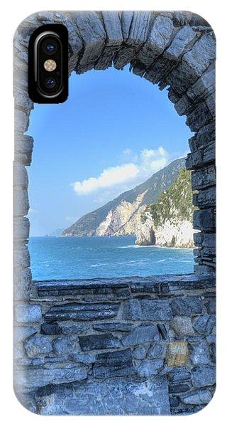 View Of Cinque Terre From Portovenere IPhone Case