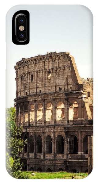 View Of Colosseum IPhone Case