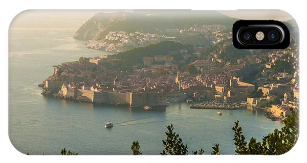 View Of Dubrovnik Peninsula IPhone Case