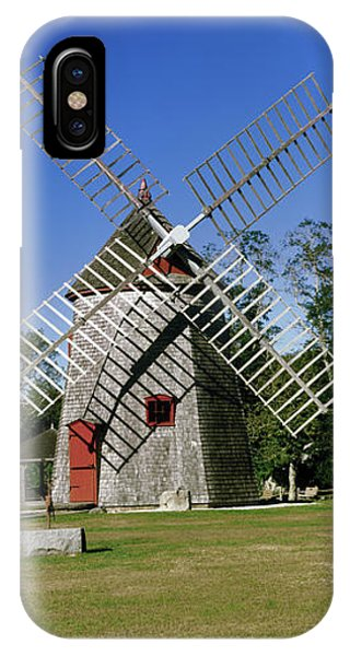 Cape Cod iPhone Case - View Of Eastham Windmill, Eastham, Cape by Panoramic Images