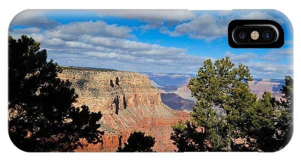 Grand Canyon Through The Junipers IPhone Case