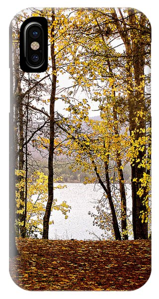 View Of  Lake Mcdonald IPhone Case