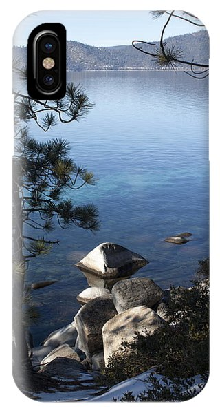 View Of Lake Tahoe IPhone Case