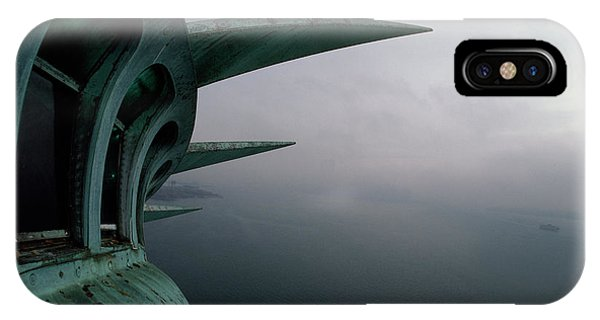 New York City iPhone Case - View Of New York Harbor From The Top by Paul Chesley