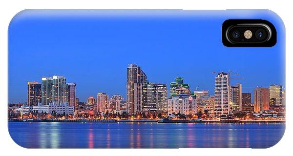Coronado iPhone Case - View Of San Diego Skyline From Coronado by Stuart Westmorland