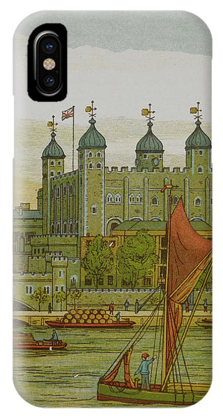 View Of The Tower Of London IPhone Case