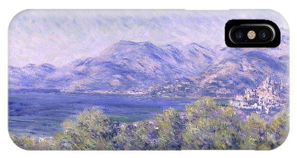 View Of Ventimiglia, 1884 IPhone Case