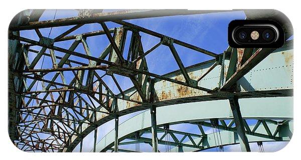 View Through The Bridge IPhone Case