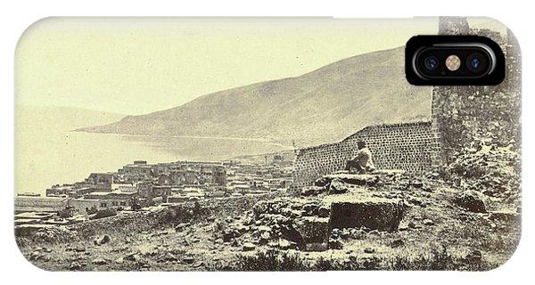 View Tiberias, 1856 - 1857 IPhone Case