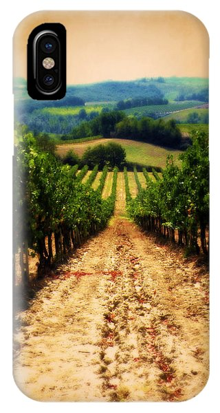 Vigneto Toscana IPhone Case