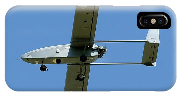 Uas iPhone Case - Viking 300 Unmanned Aerial Vehicle by Us Air Force/science Photo Library