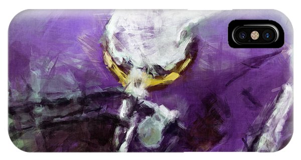 Vikings Art Abstract IPhone Case