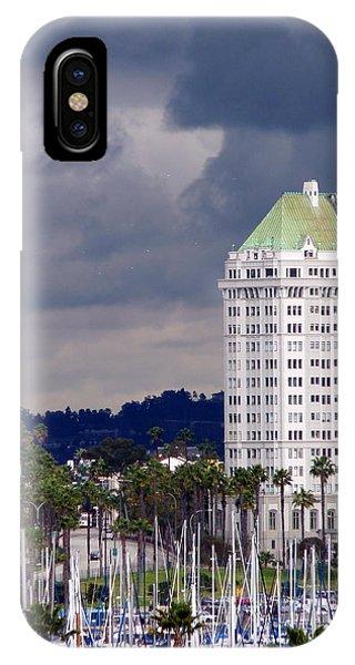 Villa Riviera Long Beach IPhone Case
