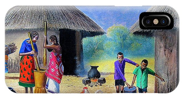 Village Chores IPhone Case