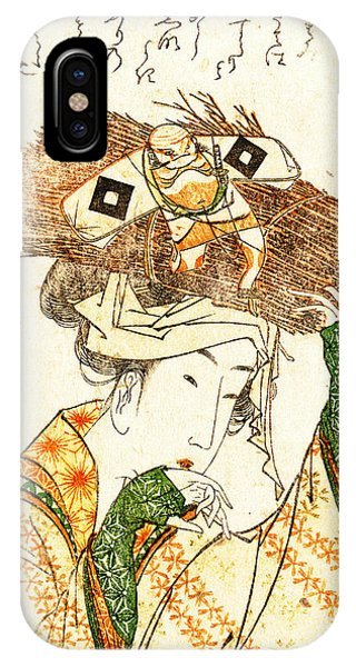 Village Girl From Ohara 1799 IPhone Case