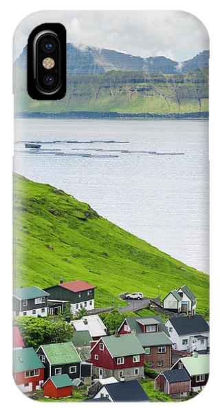 Archipelago iPhone Case - Village Of Funningur, Leiriksfjordur by Martin Zwick