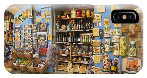 Village Shop Display IPhone Case