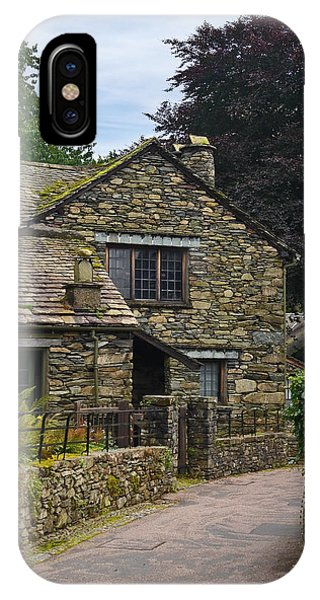 Village Street Grasmere IPhone Case
