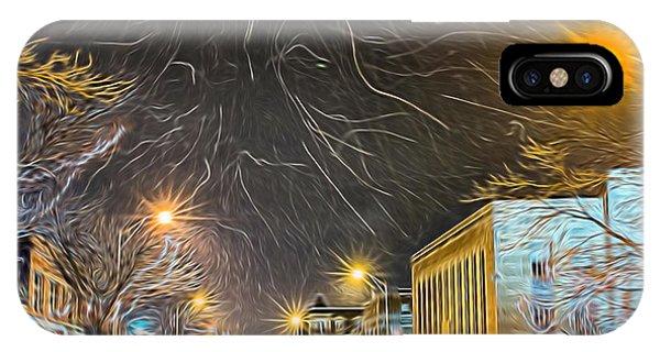 Village Winter Dream - Square IPhone Case
