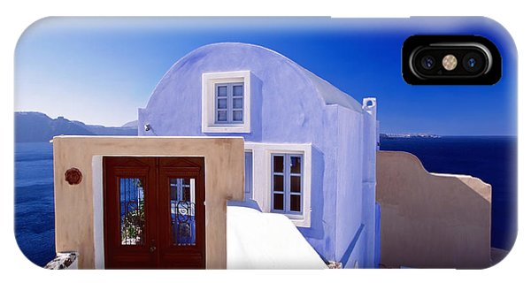 Villas Overlooking The Aegean Sea IPhone Case