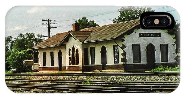 Villisca Train Depot IPhone Case