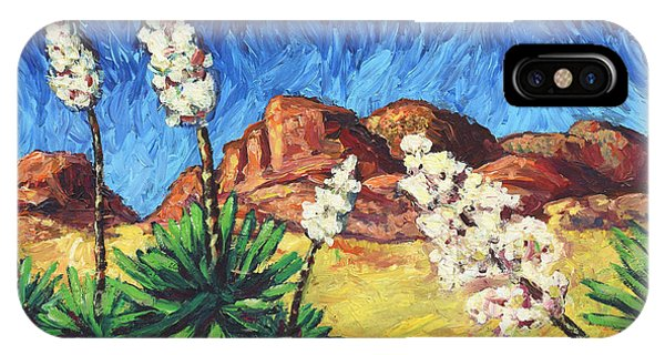 James iPhone Case - Vincent In Arizona by James W Johnson
