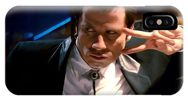 Vincent Vega IPhone Case