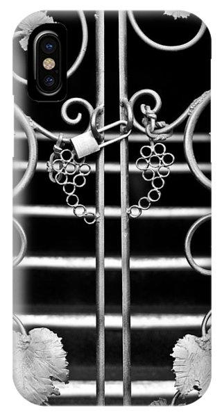 Vine Gate IPhone Case