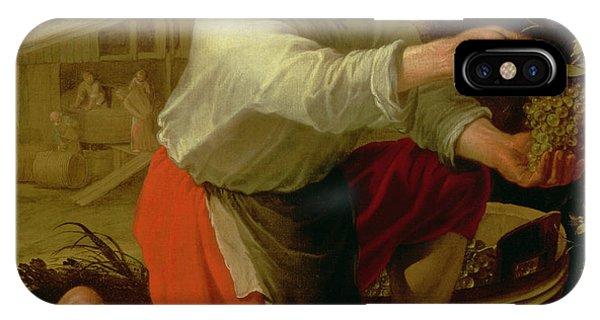 Proud iPhone Case - Vine Grower, 1628 Oil On Canvas by Jacob Gerritsz Cuyp