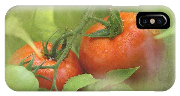 Vine Ripened Tomatoes IPhone Case