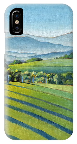 Vineyard Blue Ridge On Buck Mountain Road Virginia IPhone Case