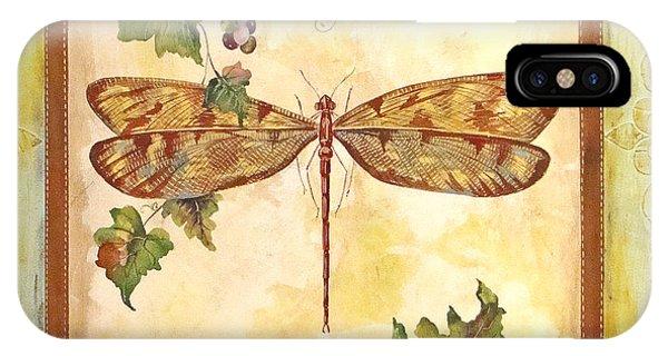 Vineyard Dragonfly IPhone Case