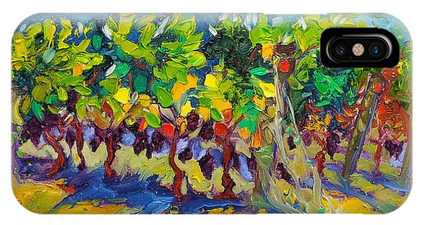 Vineyard Harvest Oil Painting IPhone Case