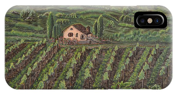 Vineyard In Neuchatel IPhone Case