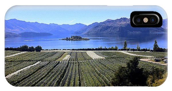 Vineyard View Of Ruby Island IPhone Case