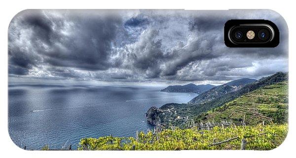 Vineyards Above Cinque Terre IPhone Case