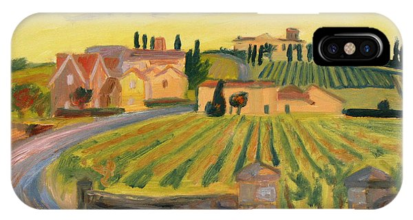 Vineyards Of St. Emilion IPhone Case