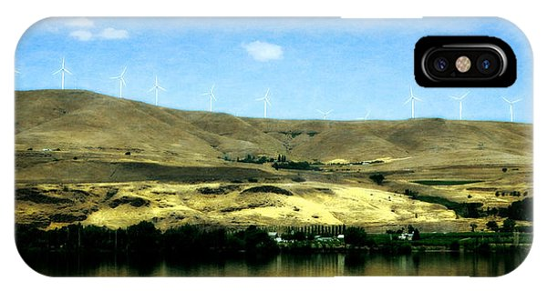 Vineyards On The Columbia River IPhone Case