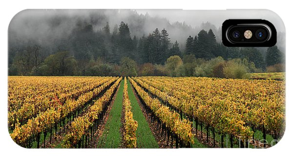 Vineyard Russian River Wine Country Sonoma County California IPhone Case