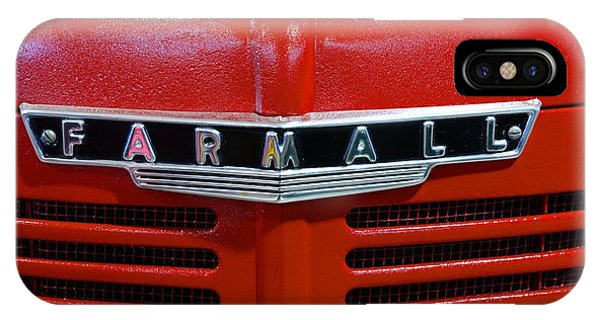 Vintage 1947 Farmall Tractor IPhone Case