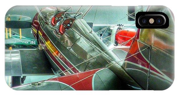 Vintage Airplane Comparison IPhone Case