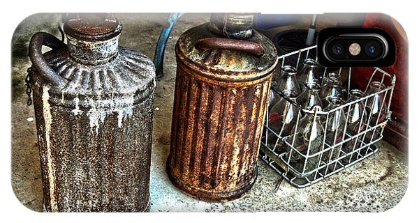 Hdr Vintage Art  Cans And Bottles IPhone Case