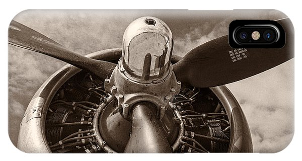 Airplanes iPhone Case - Vintage B-17 by Adam Romanowicz