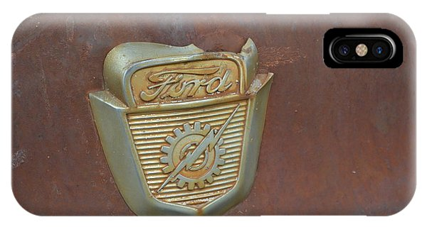 Vintage Badge IPhone Case