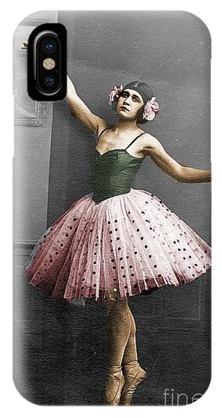 Vintage Ballerina  IPhone Case