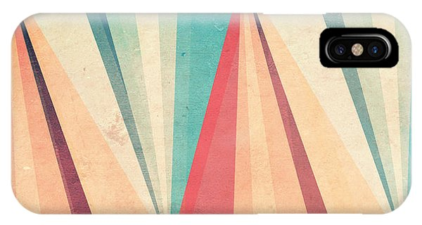 Sun iPhone Case - Vintage Beach by Vess DSign
