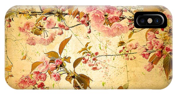 Vintage Blossom IPhone Case