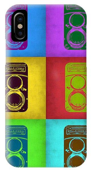 Cameras iPhone Case - Vintage Camera Pop Art 2 by Naxart Studio